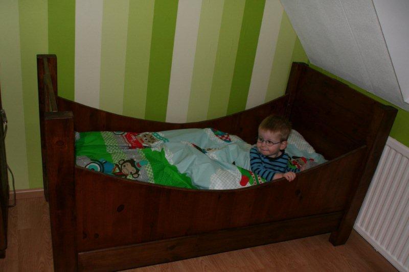 nieuwe bed